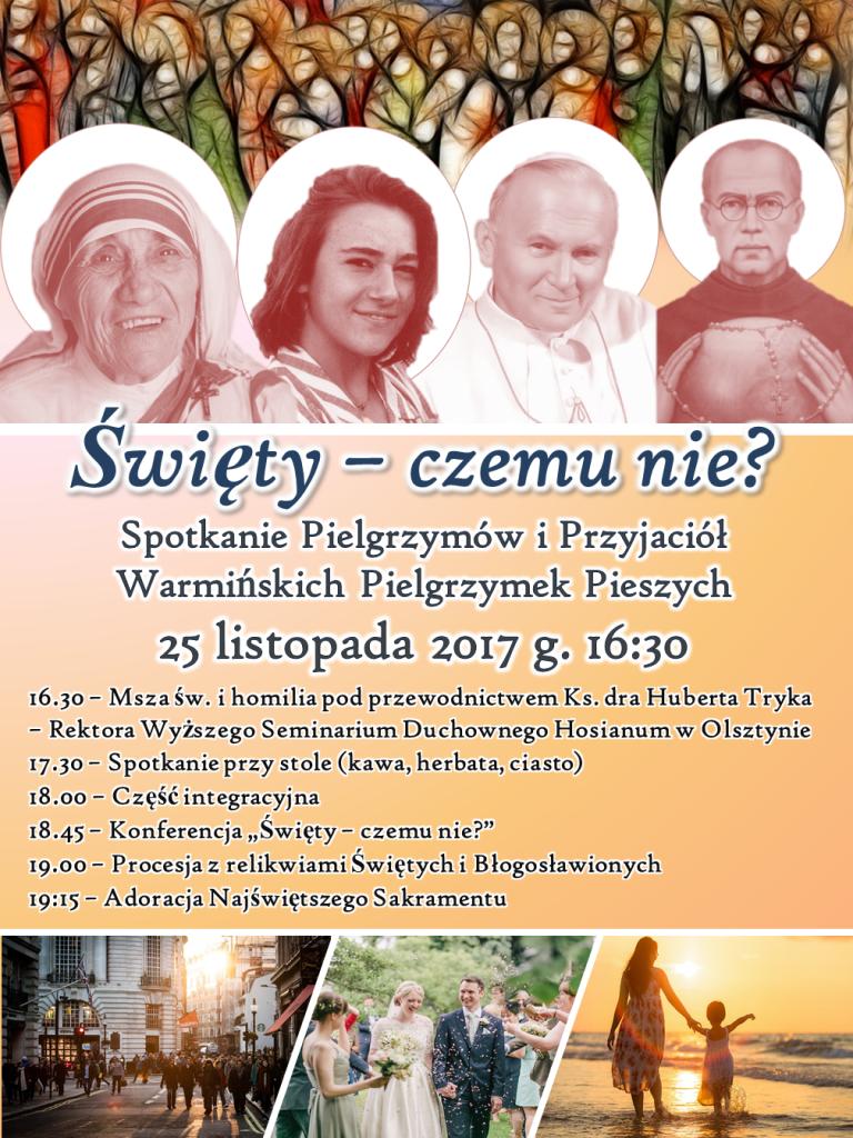 Spotkanie ze Świętymi Plakat