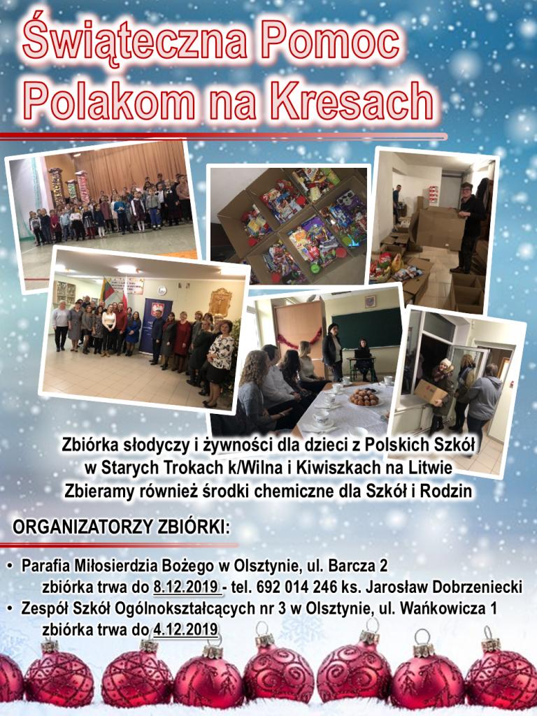 Świąteczna Pomoc Polakom na Kresach 2019